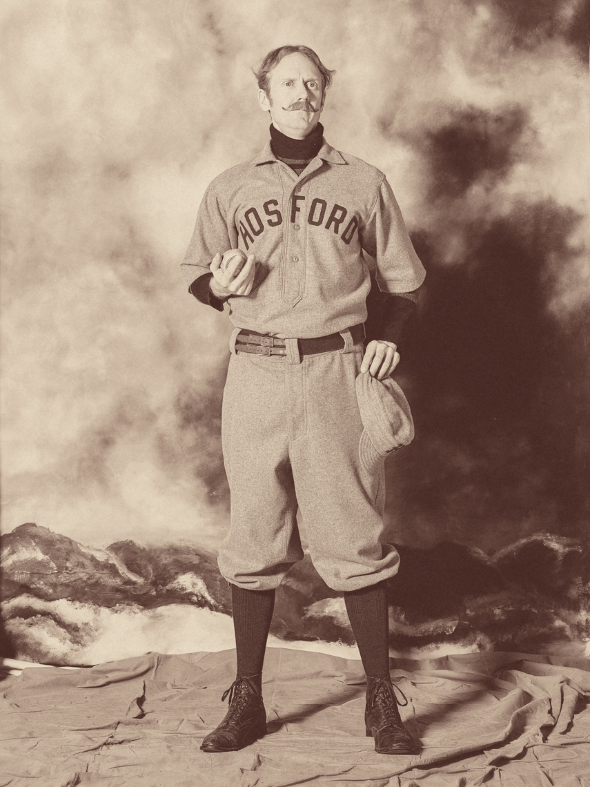 Hosford Baseball Vintage Image Effects