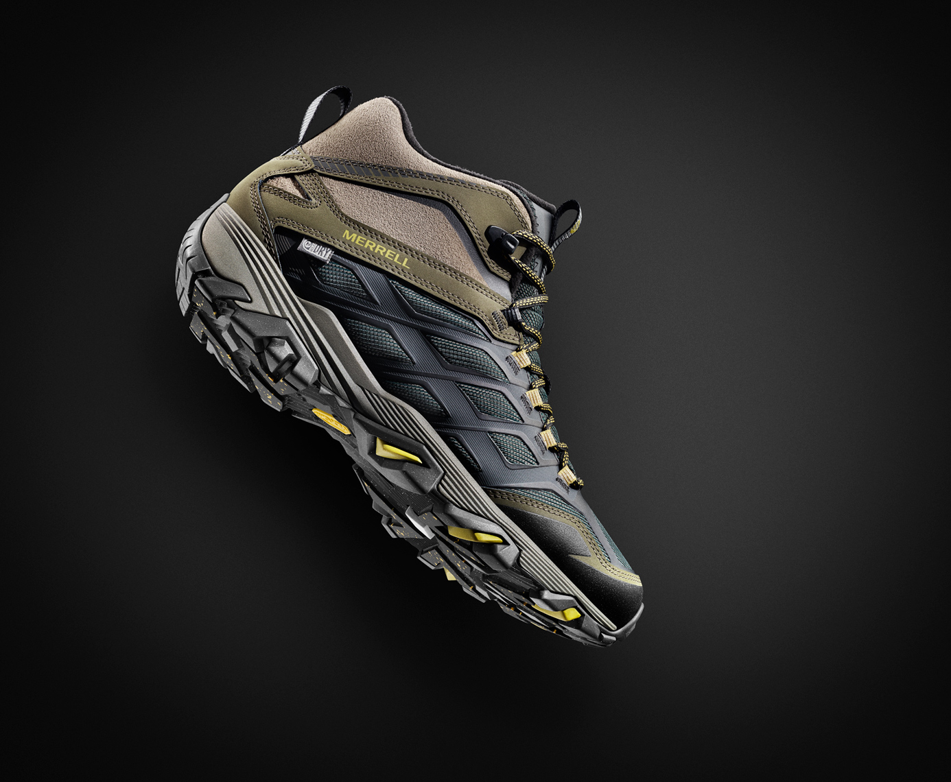 Merrell Footwear Image Retouching and Environment Creation