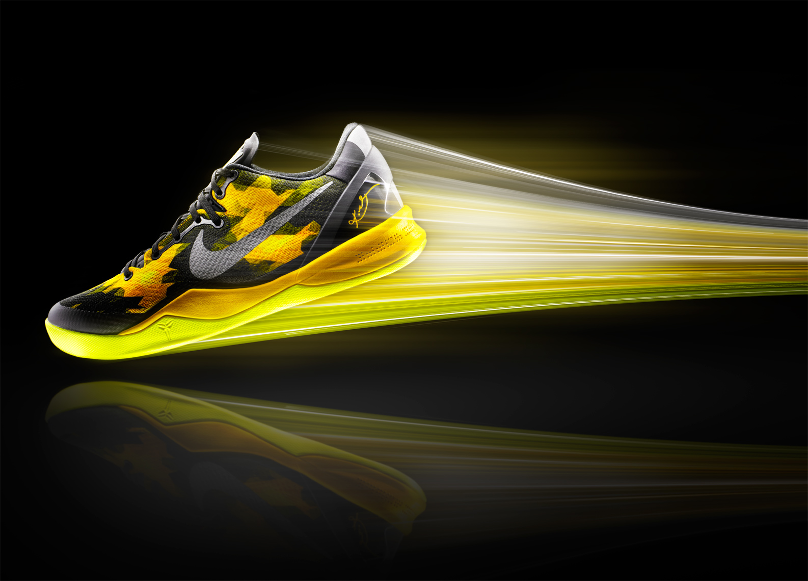 Nike Footwear Image Effects and Retouching